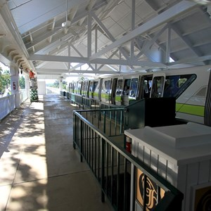 1 of 2: Disney's Grand Floridian Resort and Spa - Monorail station refurbishment