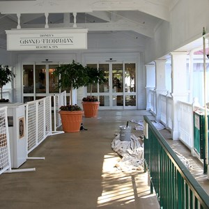 2 of 2: Disney's Grand Floridian Resort and Spa - Monorail station refurbishment