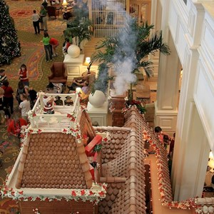 2 of 17: Disney's Grand Floridian Resort and Spa - 2010 Grand Floridian Resort Gingerbread House