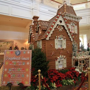 3 of 17: Disney's Grand Floridian Resort and Spa - 2010 Grand Floridian Resort Gingerbread House
