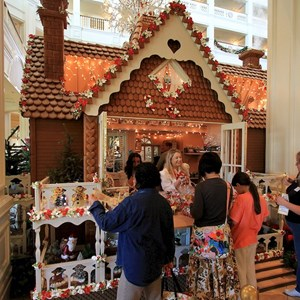 4 of 17: Disney's Grand Floridian Resort and Spa - 2010 Grand Floridian Resort Gingerbread House