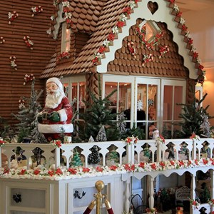 14 of 17: Disney's Grand Floridian Resort and Spa - 2010 Grand Floridian Resort Gingerbread House
