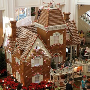 3 of 13: Disney's Grand Floridian Resort and Spa - Grand Floridian Gingerbread House 2011