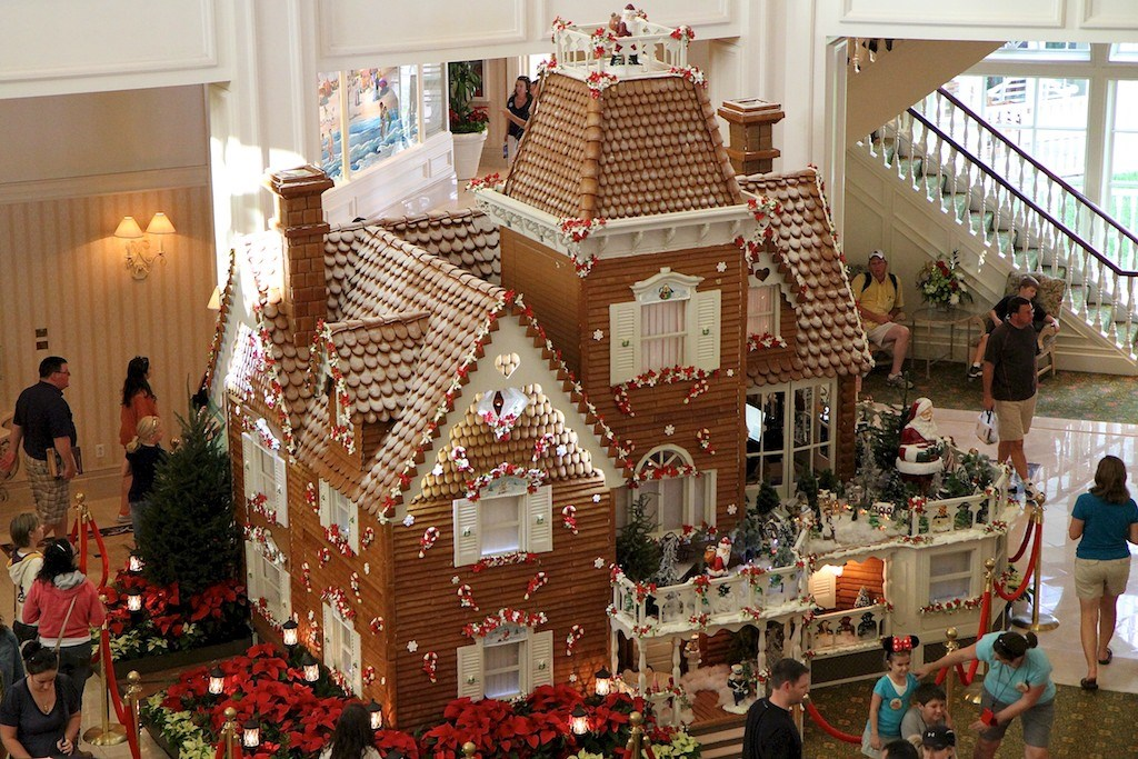 Grand Floridian Gingerbread House 2011