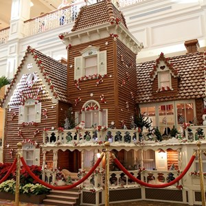 2 of 13: Disney's Grand Floridian Resort and Spa - Grand Floridian Gingerbread House 2011