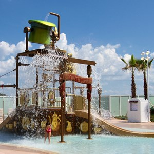3 of 7: Disney's Grand Floridian Resort and Spa - Disney's Grand Floridian Resort - Alice in Wonderland kids splash playground