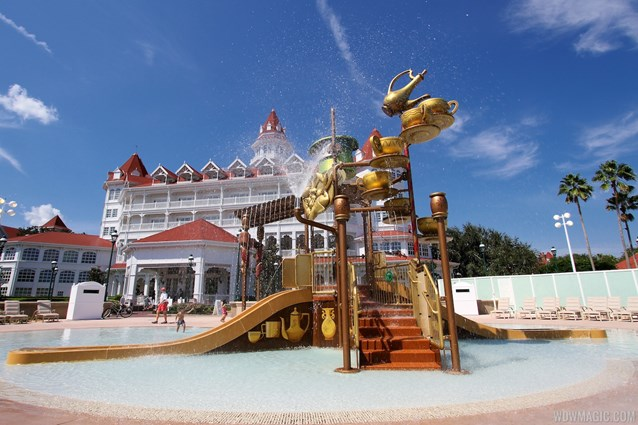 Disney's Grand Floridian Resort and Spa - Disney's Grand Floridian Resort - Alice in Wonderland kids splash playground