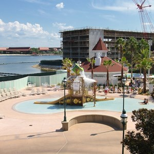 6 of 7: Disney's Grand Floridian Resort and Spa - Disney's Grand Floridian Resort - Alice in Wonderland kids splash playground