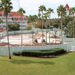 2 of 4: Disney's Grand Floridian Resort and Spa - Grand Floridian Courtyard Pool refurbishment