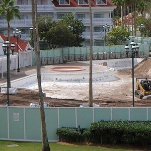 3 of 4: Disney's Grand Floridian Resort and Spa - Grand Floridian Courtyard Pool refurbishment