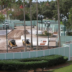 4 of 4: Disney's Grand Floridian Resort and Spa - Grand Floridian Courtyard Pool refurbishment
