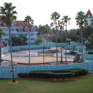 1 of 3: Disney's Grand Floridian Resort and Spa - Grand Floridian courtyard pool refurbishment
