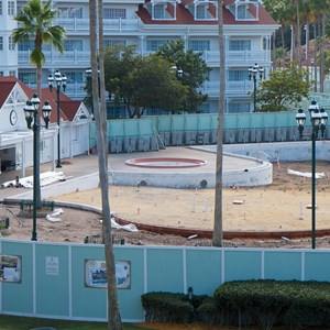 2 of 3: Disney's Grand Floridian Resort and Spa - Grand Floridian courtyard pool refurbishment