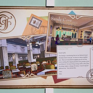 1 of 2: Disney's Grand Floridian Resort and Spa - Grand Floridian - Gasparilla Grill, Sandy Cove concept art