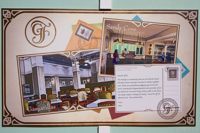 Disney's Grand Floridian Resort and Spa - Grand Floridian - Gasparilla Grill, Sandy Cove concept art