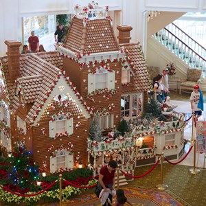 1 of 10: Disney's Grand Floridian Resort and Spa - Grand Floridian Gingerbread House 2012