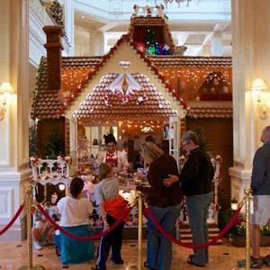 2 of 10: Disney's Grand Floridian Resort and Spa - Grand Floridian Gingerbread House 2012