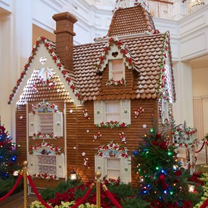 3 of 10: Disney's Grand Floridian Resort and Spa - Grand Floridian Gingerbread House 2012