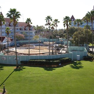 1 of 2: Disney's Grand Floridian Resort and Spa - Grand Floridian courtyard pool refurbishment