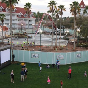 1 of 4: Disney's Grand Floridian Resort and Spa - Grand Floridian courtyard pool refurbishment