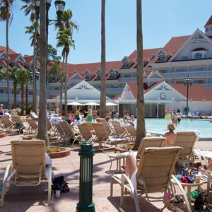 3 of 12: Disney's Grand Floridian Resort and Spa - Grand Floridian courtyard pool reopens from refurbishment