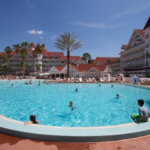 4 of 12: Disney's Grand Floridian Resort and Spa - Grand Floridian courtyard pool reopens from refurbishment