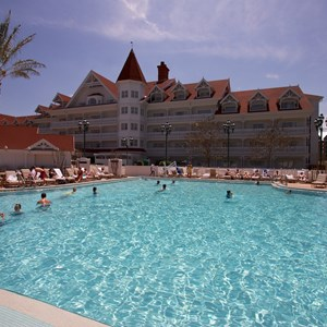 5 of 12: Disney's Grand Floridian Resort and Spa - Grand Floridian courtyard pool reopens from refurbishment