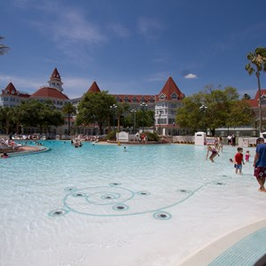 8 of 12: Disney's Grand Floridian Resort and Spa - Grand Floridian courtyard pool reopens from refurbishment