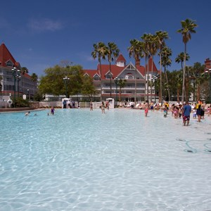 10 of 12: Disney's Grand Floridian Resort and Spa - Grand Floridian courtyard pool reopens from refurbishment