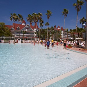 11 of 12: Disney's Grand Floridian Resort and Spa - Grand Floridian courtyard pool reopens from refurbishment