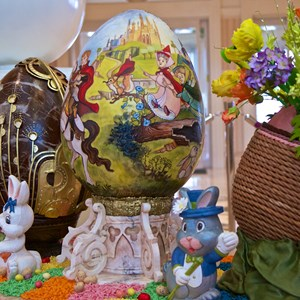 4 of 9: Disney's Grand Floridian Resort and Spa - 2014 Grand Floridian Resort Easter Eggs