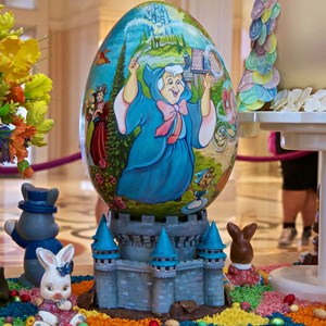 5 of 9: Disney's Grand Floridian Resort and Spa - 2014 Grand Floridian Resort Easter Eggs