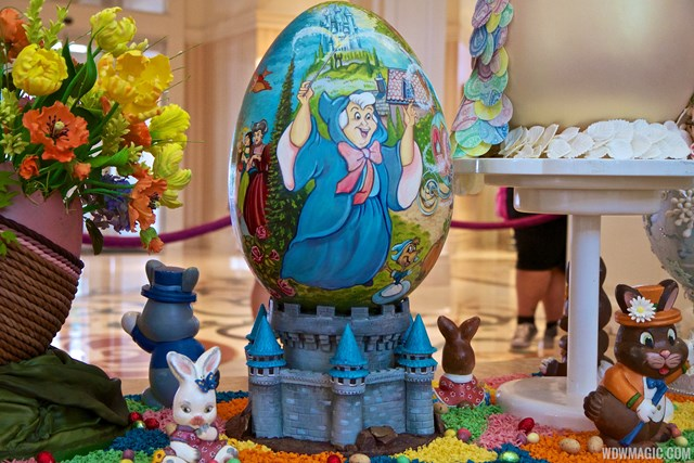 Edible works of art at the Grand Floridian Resort