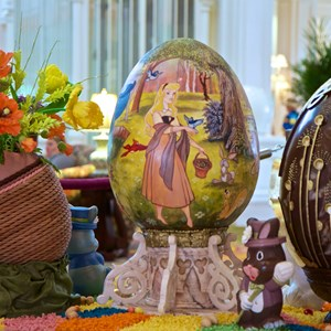8 of 9: Disney's Grand Floridian Resort and Spa - 2014 Grand Floridian Resort Easter Eggs