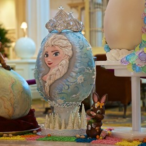 3 of 9: Disney's Grand Floridian Resort and Spa - 2014 Grand Floridian Resort Easter Eggs