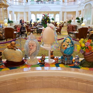 1 of 9: Disney's Grand Floridian Resort and Spa - 2014 Grand Floridian Resort Easter Eggs
