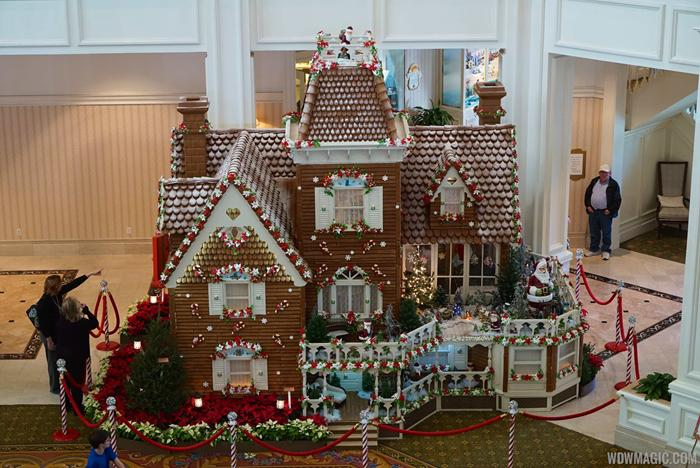 2014 Grand Floridian Gingerbread House