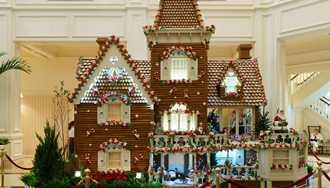 PHOTOS - Disney's Grand Floridian Resort Gingerbread house