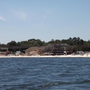 3 of 4: Disney's Grand Floridian Resort and Spa - Grand Floridian pool construction photos
