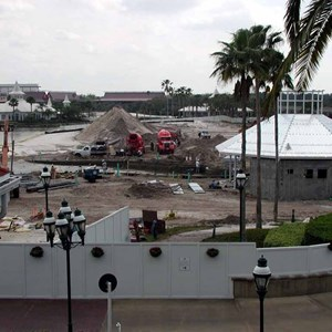 1 of 1: Disney's Grand Floridian Resort and Spa - Grand Floridian pool construction photos