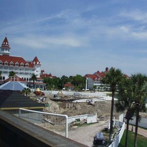 1 of 2: Disney's Grand Floridian Resort and Spa - Grand Floridian pool construction photos