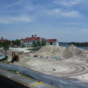 2 of 2: Disney's Grand Floridian Resort and Spa - Grand Floridian pool construction photos