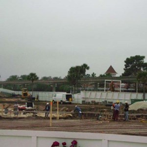 1 of 6: Disney's Grand Floridian Resort and Spa - Grand Floridian pool construction photos