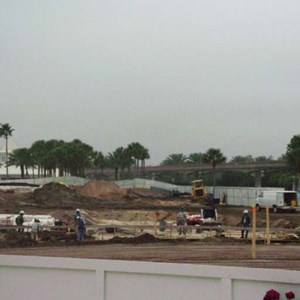 2 of 6: Disney's Grand Floridian Resort and Spa - Grand Floridian pool construction photos