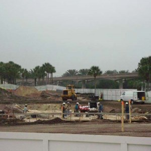3 of 6: Disney's Grand Floridian Resort and Spa - Grand Floridian pool construction photos