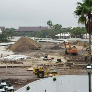 4 of 6: Disney's Grand Floridian Resort and Spa - Grand Floridian pool construction photos