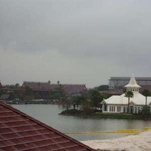 6 of 6: Disney's Grand Floridian Resort and Spa - Grand Floridian pool construction photos