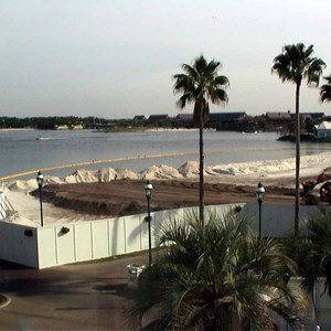 2 of 4: Disney's Grand Floridian Resort and Spa - Grand Floridian pool construction photos