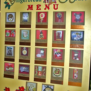15 of 15: Disney's Grand Floridian Resort and Spa - The Gingerbread House menu.