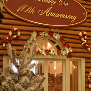 4 of 15: Disney's Grand Floridian Resort and Spa - The Gingerbread House in The Grand Floridian lobby - 2008 marks the 10th year of the display.